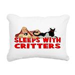 critters.png Rectangular Canvas Pillow