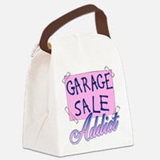 Garage Sale Addict Canvas Lunch Bag