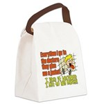 hugmyself.png Canvas Lunch Bag