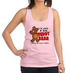 Big Teddy Bear Racerback Tank Top