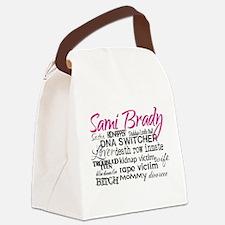 Cute Brady Canvas Lunch Bag