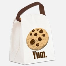 Yum. Cookie Canvas Lunch Bag
