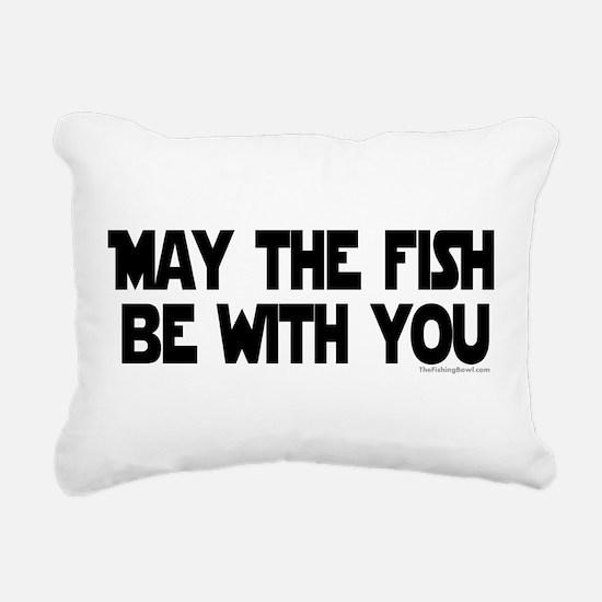 Fish Force Rectangular Canvas Pillow