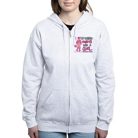 Licensed Fight Like A Girl 42.9 Women's Zip Hoodie