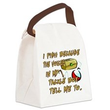 Tackle Box Voices Canvas Lunch Bag