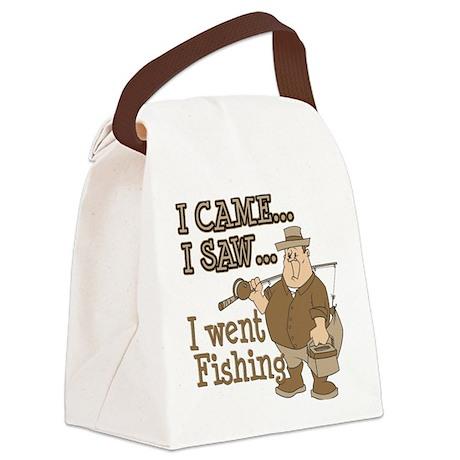 I Came... I Saw... Canvas Lunch Bag