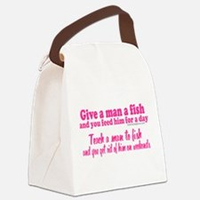 Fishing Weekends Canvas Lunch Bag
