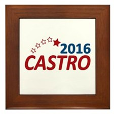 Julian Castro 2016 Framed Tile