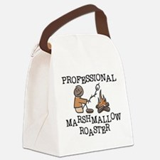Professional Marshmallow Roaster Canvas Lunch Bag