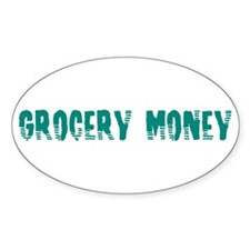 Grocery Money Decal