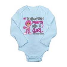 Licensed Fight Like A Long Sleeve Infant Bodysuit
