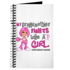 Licensed Fight Like A Girl 42.9 Breast Can Journal