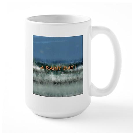 Weather - It rainy day Large Mug