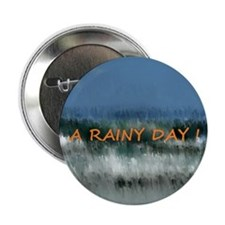 """Weather - It rainy day 2.25"""" Button"""