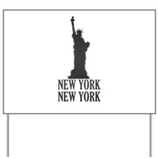 NY Liberty Yard Sign