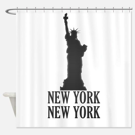 NY Liberty Shower Curtain