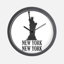 NY Liberty Wall Clock