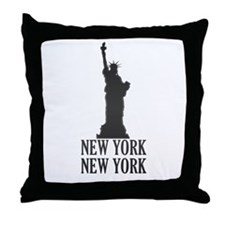 NY Liberty Throw Pillow