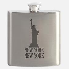 NY Liberty Flask
