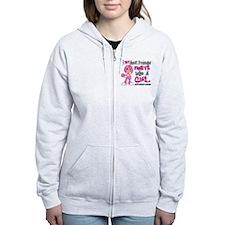 Licensed Fight Like a Girl 42.9 Zip Hoodie
