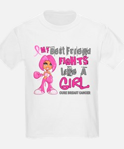 Licensed Fight Like a Girl 42.9 T-Shirt