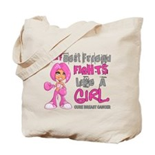 Licensed Fight Like a Girl 42.9 Breast Ca Tote Bag