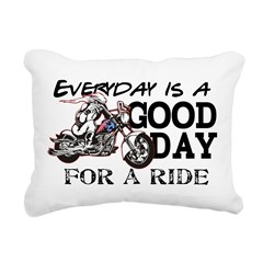Everyday is a Good Day Rectangular Canvas Pillow