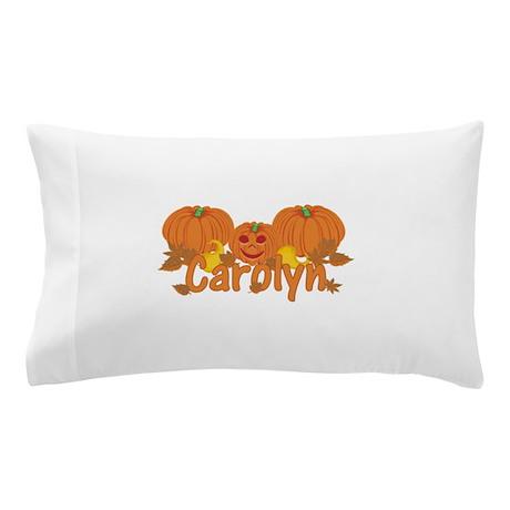 Halloween Pumpkin Carolyn Pillow Case