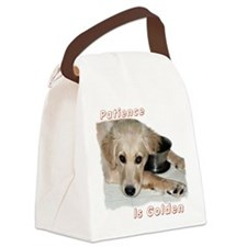 Patience is Golden Canvas Lunch Bag