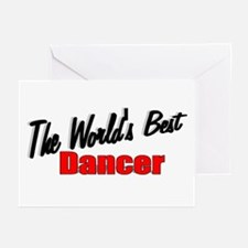 """The World's Best Dancer"" Greeting Cards (Package"