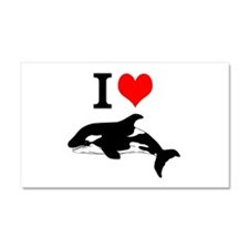 Whale Song Car Magnet 20 x 12