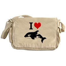 Whale Song Messenger Bag
