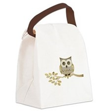 Apothecary Owl Branch 1 copy.png Canvas Lunch Bag