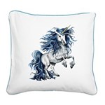Unicorn Square Canvas Pillow