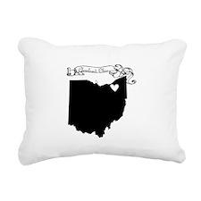 Cleveland Ohio Rectangular Canvas Pillow