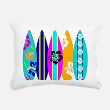 Surfboards Rectangular Canvas Pillow