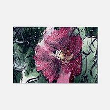 Floral Rectangle Magnet