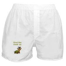 Shut the Shell up. Boxer Shorts