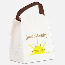 Good Morning Sunshine.png Canvas Lunch Bag