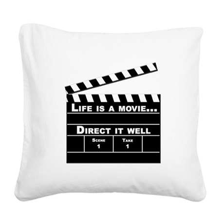 Life is a movie, Direct it well - Square Canvas Pi