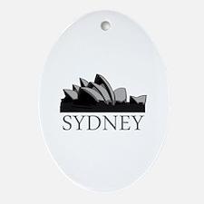 Sydney Opera Ornament (Oval)