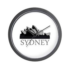 Sydney Opera Wall Clock
