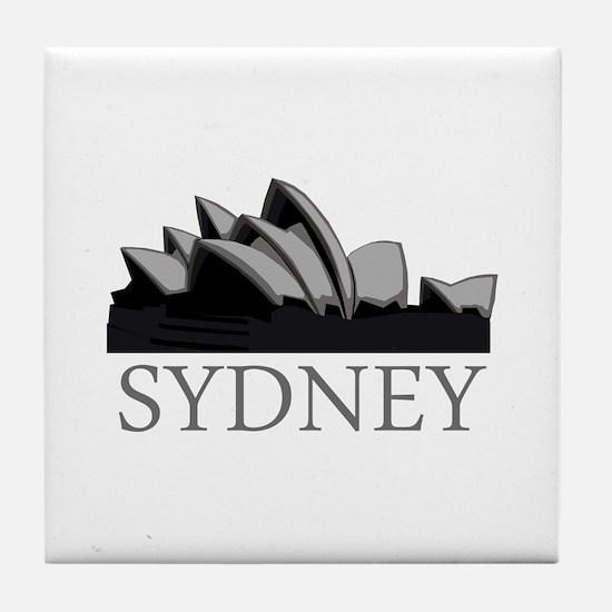 Sydney Opera Tile Coaster