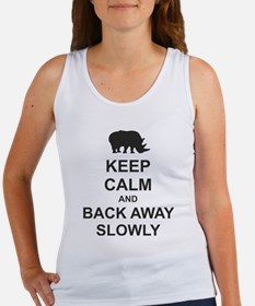 Keep Calm and Back Away Slowly Women's Tank Top
