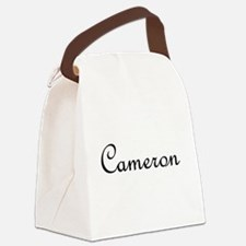 Cameron.png Canvas Lunch Bag