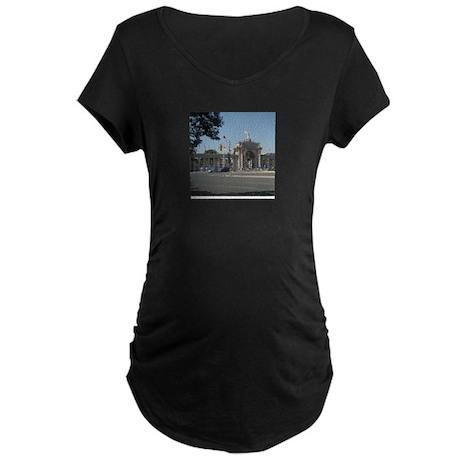 Exihibition Place-Toronto Maternity Dark T-Shirt