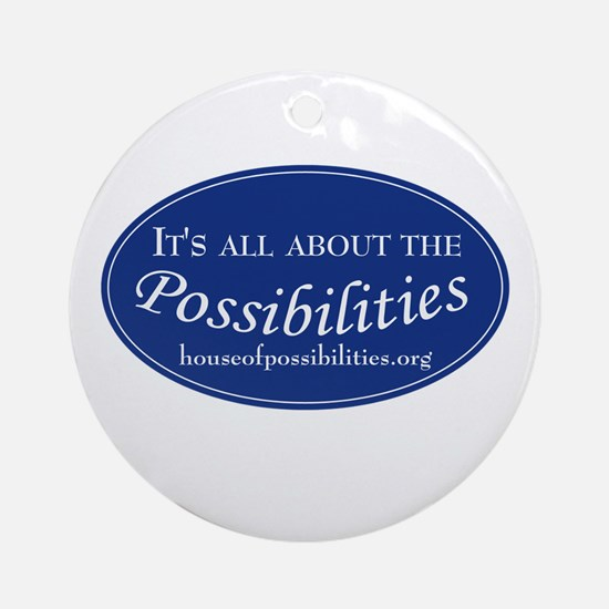 Possibilities Ornament (Round)