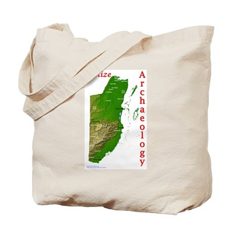 Belize Maya Archaeology Tote Bag