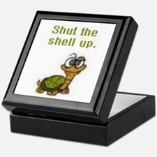 Shut the Shell up. Keepsake Box
