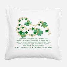 Irish Blessing Square Canvas Pillow
